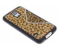 Luxe luipaard hoesje Samsung Galaxy S5 (Plus) / Neo