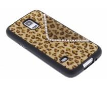Luxe luipaard TPU hoesje Samsung Galaxy S5 mini