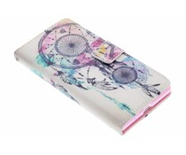 Design TPU booktype hoes Huawei Ascend P7