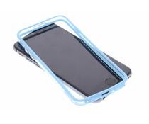 Lichtblauw transparante bumper iPhone 6 / 6s