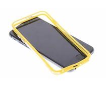 Geel transparante bumper iPhone 6 / 6s