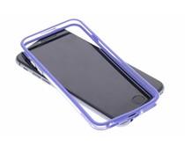 Blauw transparante bumper iPhone 6 / 6s