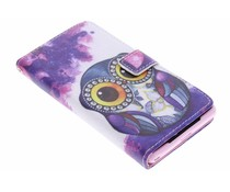 Design TPU booktype hoes Sony Xperia Z2