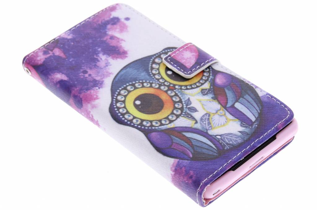 Uil design TPU booktype hoes voor de Sony Xperia Z2