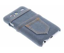 Denim jeans hardcase Samsung Galaxy S Advance