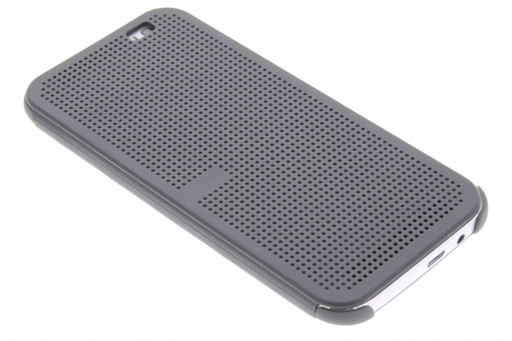 Grijze Dot-Cover hoes voor de HTC One M8 / M8s
