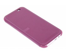 Paars Dot-Cover hoes HTC One M8 / M8s