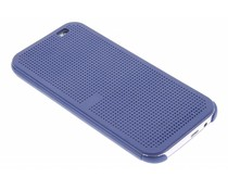 Donkerblauw Dot-Cover hoes HTC One M8 / M8s