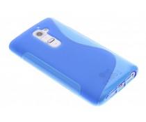 Blauw S-line TPU hoesje LG G2