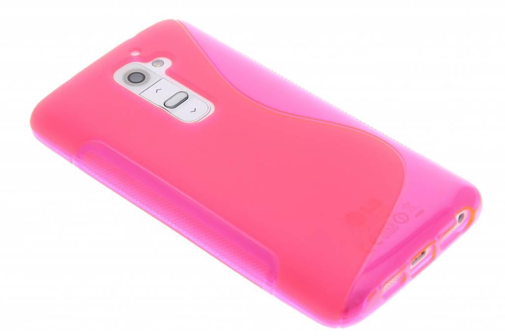 Rosé S-line TPU siliconen hoesje voor de LG G2