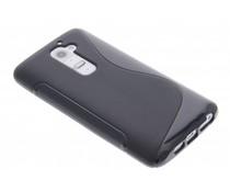 Zwart S-line TPU hoesje LG G2