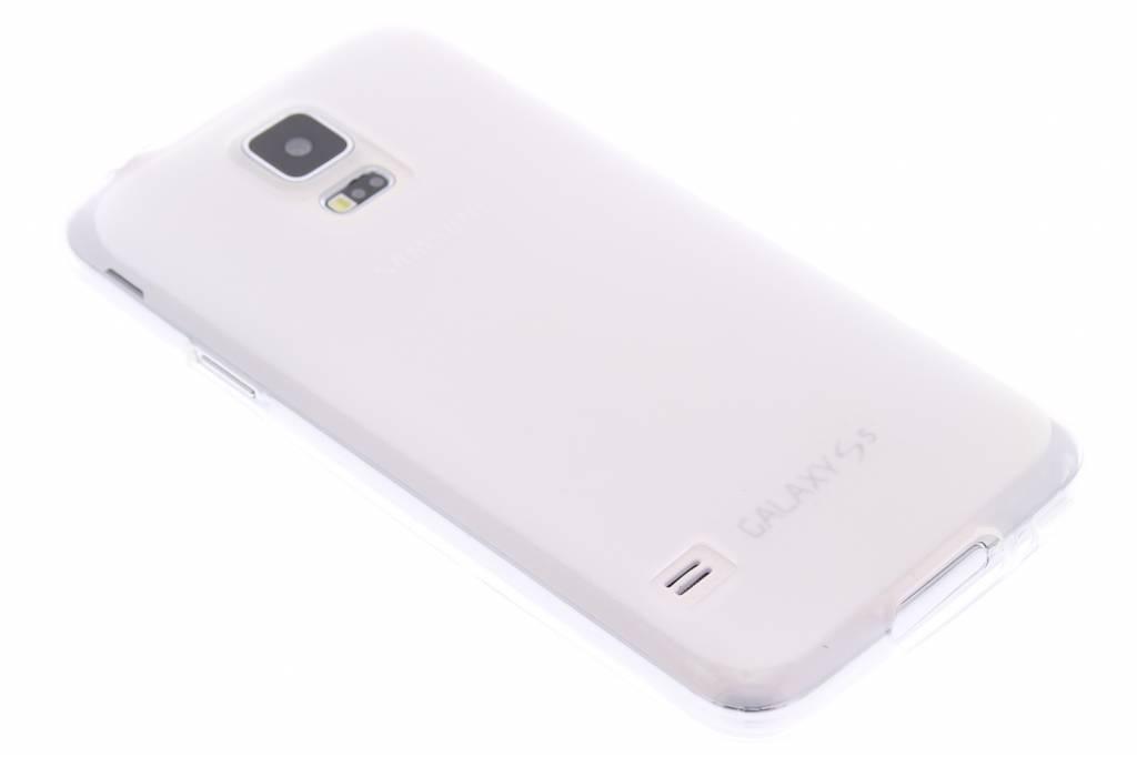Transparant hard siliconen hoesje voor de Samsung Galaxy S5 (Plus) / Neo