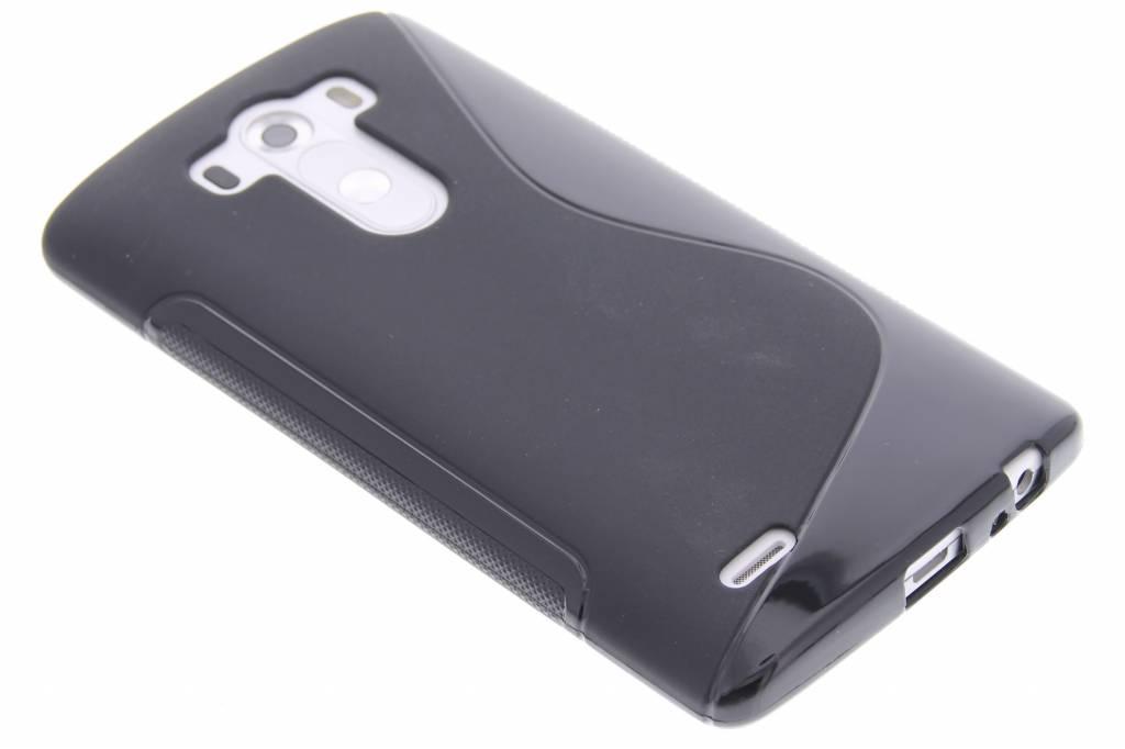 Zwart S-line TPU hoesje voor de LG G3