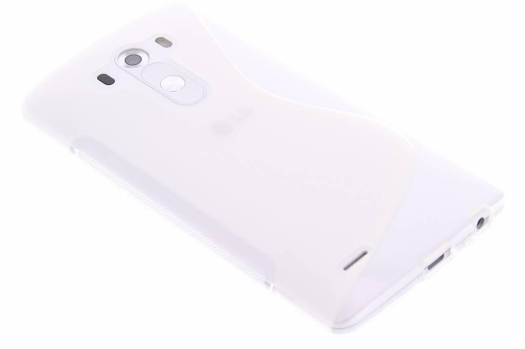 Transparant S-line TPU hoesje voor de LG G3