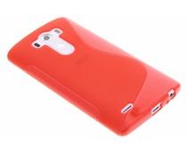 Rood S-line TPU hoesje LG G3