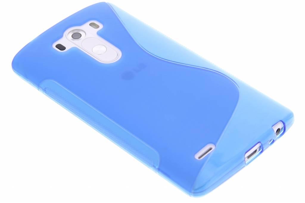 Blauw S-line TPU hoesje voor de LG G3