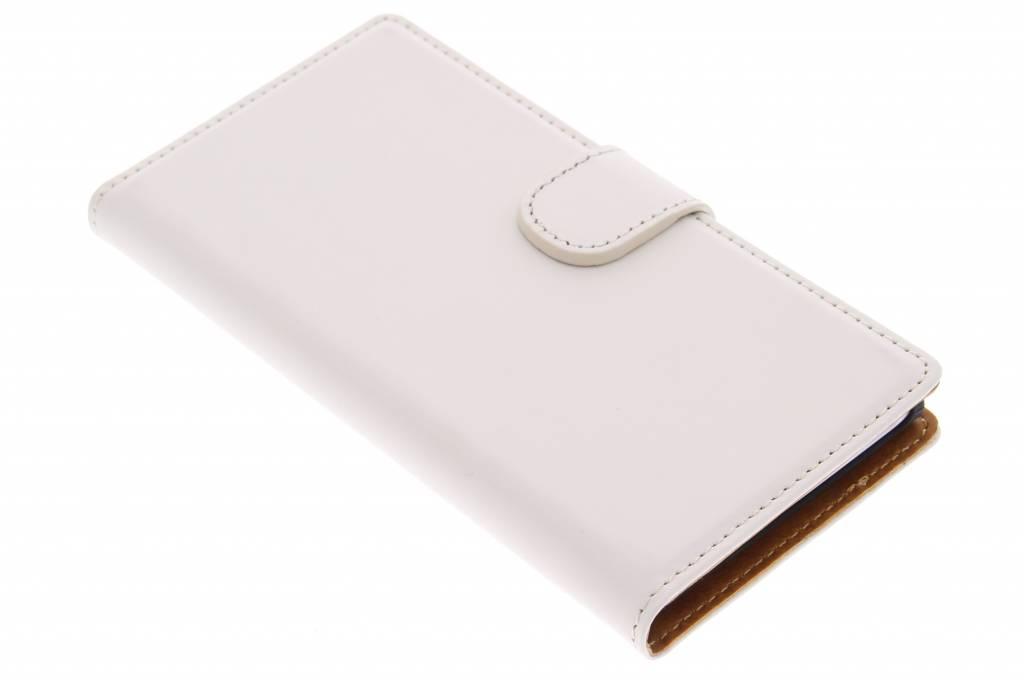 Mobiparts Premium Wallet Case voor de Huawei Ascend G6 - White