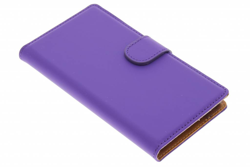 Mobiparts Premium Wallet Case voor de Huawei Ascend G6 - Purple