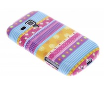 Design TPU hoesje Samsung Galaxy S Duos / Trend (Plus)