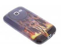 Design TPU siliconen hoesje Samsung Galaxy Trend Lite