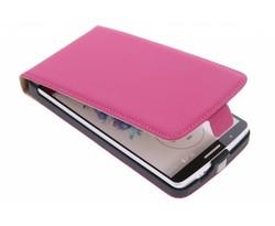 Mobiparts Premium flipcase LG G3 - Pink
