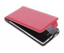 Rood luxe flipcase Huawei ascend G6 4G