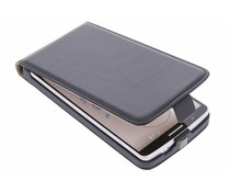 Zwart luxe flipcase LG G3