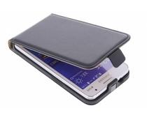Zwart luxe flipcase Samsung Galaxy Core 2
