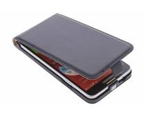 Zwart luxe flipcase Samsung Galaxy Note 3 Neo