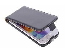Zwart luxe flipcase Samsung Galaxy S5 Mini
