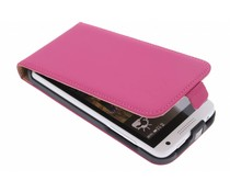 Mobiparts Premium flipcase HTC Desire 610 - Pink