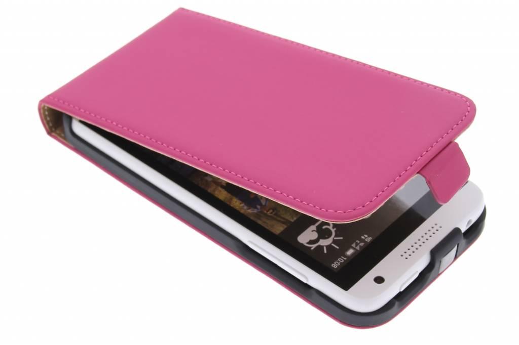 Mobiparts Premium flipcase voor de HTC Desire 610 - Pink