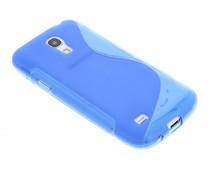 Blauw S-line TPU hoesje Samsung Galaxy S4 Mini