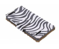 Zebra booktype hoes Huawei Ascend G6 4G