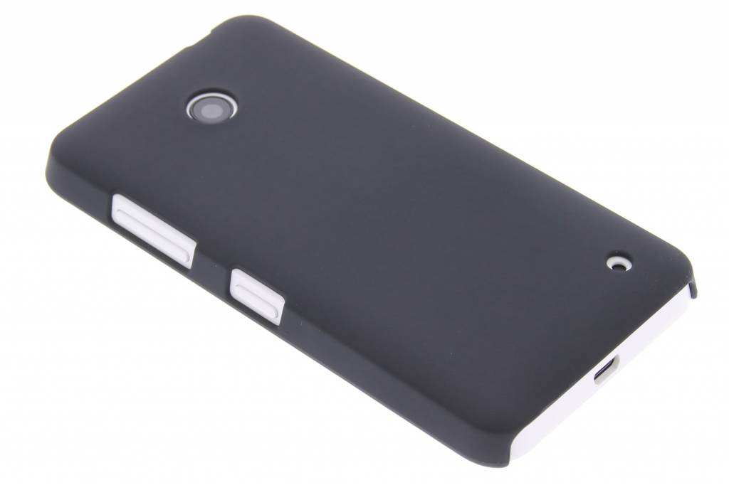 Zwarte effen hardcase voor de Nokia Lumia 630 / 635