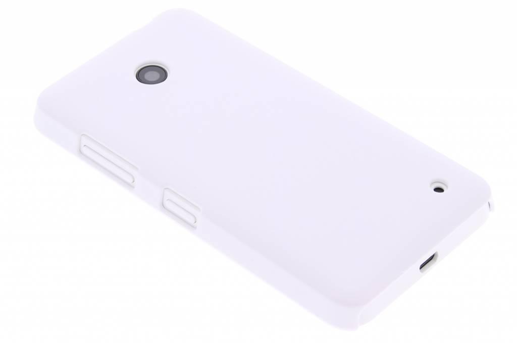 Witte effen hardcase hoesje voor de Nokia Lumia 630-635
