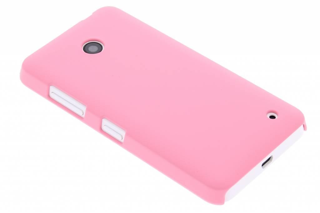Roze effen hardcase hoesje voor de Nokia Lumia 630 / 635