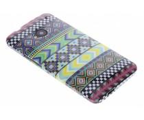 Design TPU siliconen hoesje HTC One