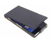 Zwart classic flipcase Sony Xperia Z3