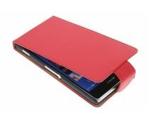 Rood classic flipcase Sony Xperia Z3