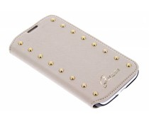 Guess Studded Folio Case Samsung Galaxy S4 - goud