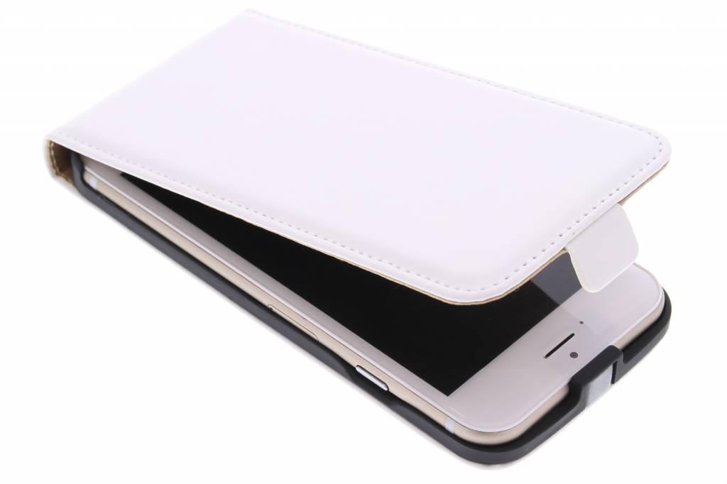 Witte luxe flipcase voor de iPhone 6 / 6s