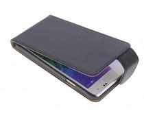 Zwart classic flipcase Samsung Galaxy Alpha