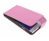 Roze classic flipcase Samsung Galaxy Alpha