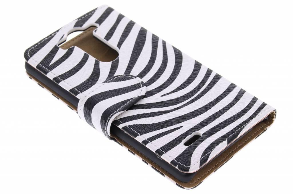 Zebra booktype hoes voor de LG G3 S