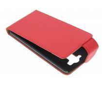 Rood classic flipcase LG G3 S