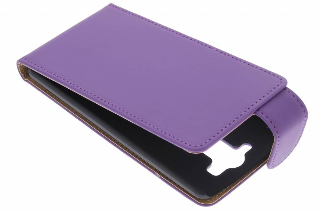 Paarse classic flipcase voor de LG G3 S