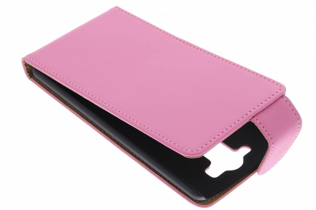 Roze classic flipcase voor de LG G3 S