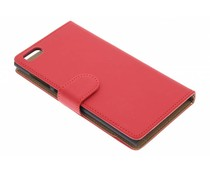 Rood effen booktype hoes Xiaomi Mi3