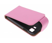 Roze classic flipcase Samsung Galaxy Young 2